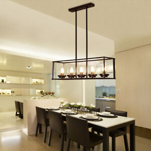 Details About Large Chandelier Lighting Kitchen Lamp Gl Pendant Light Black Ceiling Lights