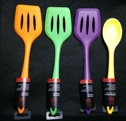 4 ps set 3 turners and 1 spoon Chef Craft Spoon and mixing spoon set ts3