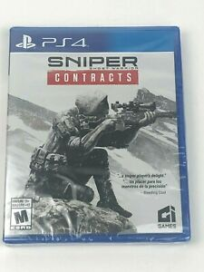 Brand New & Sealed Sniper Ghost Warriors Contracts for PS4 PlayStation 4