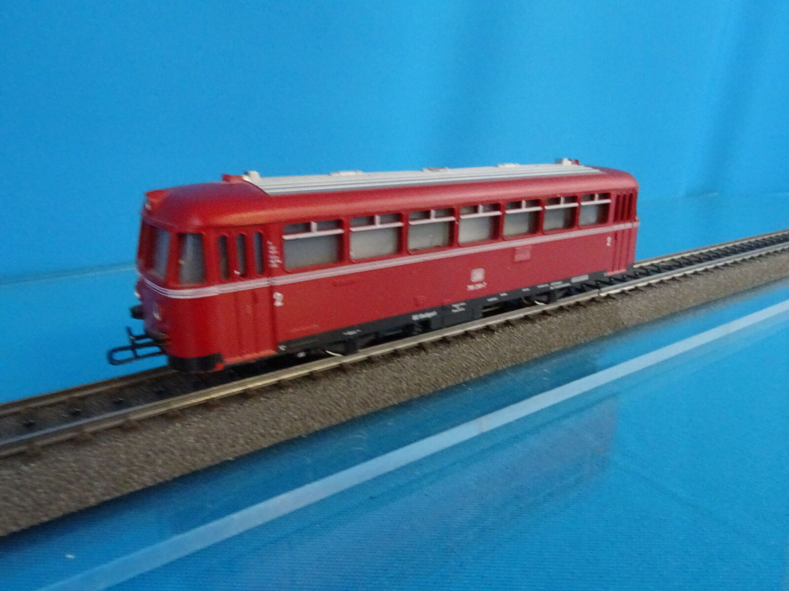 Marklin 3016 DB rail Bus red version 6 nr. 795 299-7