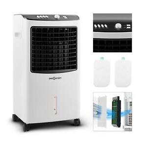 Ventilateur-Rafraichisseur-Humidificateur-Portable-Nettoyeur-Filtre-Minuterie