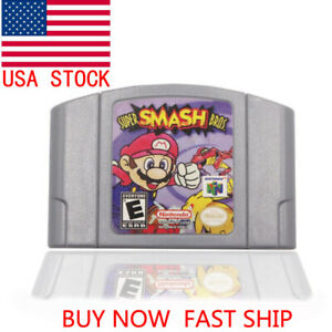 Super-Smash-Bros-Video-Game-Cartridge-Console-Card-US-Version-For-Nintendo-N64