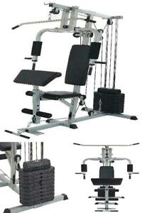 total home gym workout 330lb resist weight bench press