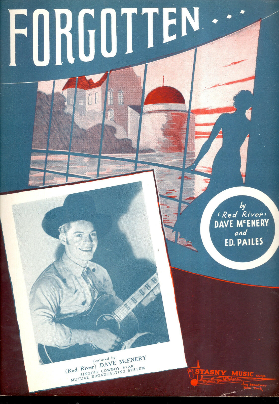 rojo River Dave McEnery partituras  olvidado    1939  entrega de rayos