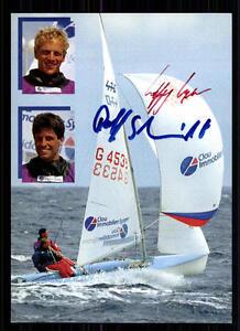 W. Hunger & Rolf Schmidt SEGEL AK Orig. Sign. +94435 + A 71547