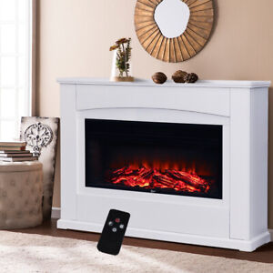 electric heater fire surround