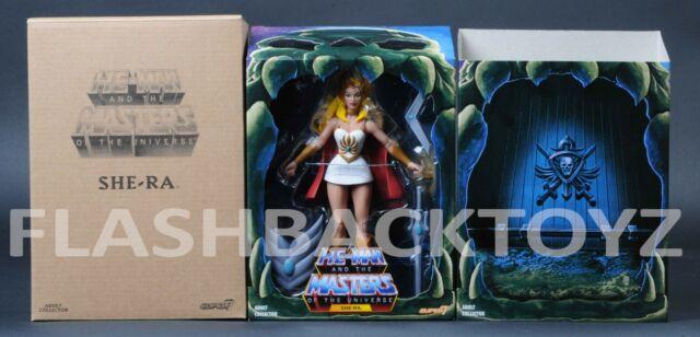 SHE-RA Filmation SUPER7 S7 Club Grayskull MOTU Figure Princess of Power Adora