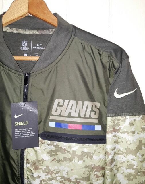 new styles bc807 ed8df Nike NFL NY Giants Salute to Service Jersey Hybrid Jacket Men's Small  852965-325