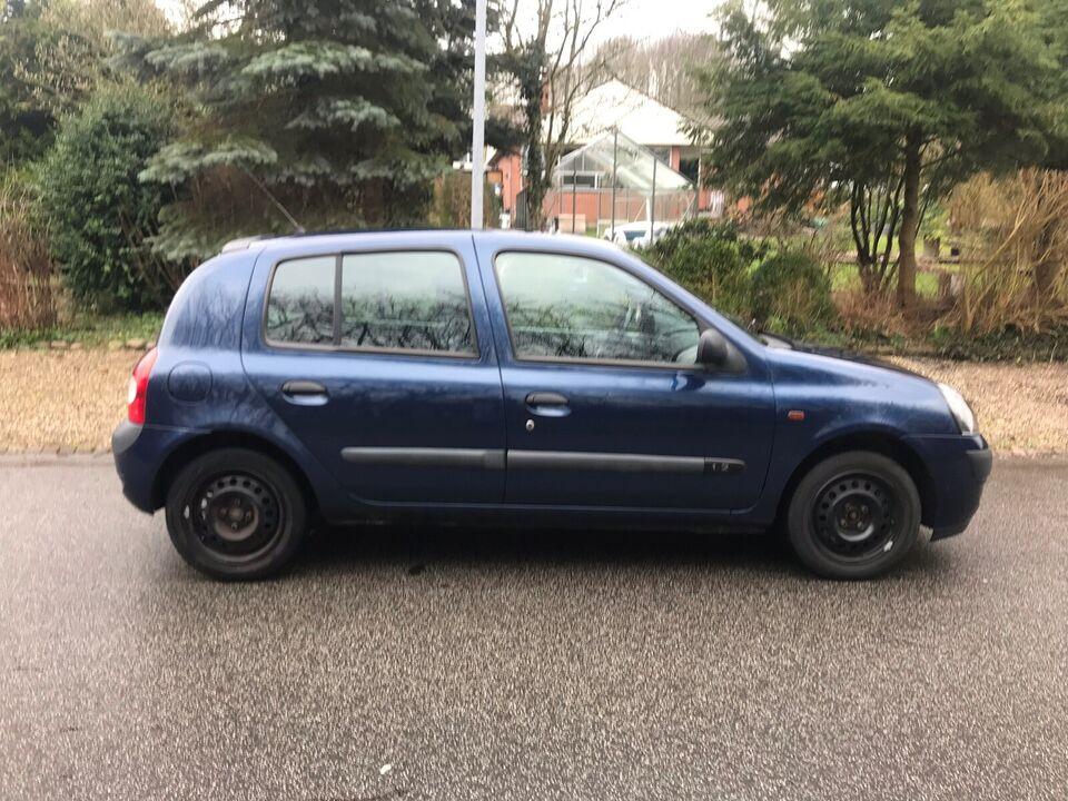 Renault Clio II, 1,2 8V Authentique, Benzin