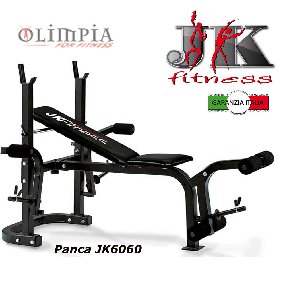 JK FITNESS Panca piana   inclinata JK 6060 + Butterfly + Leg Extension GARANZIA