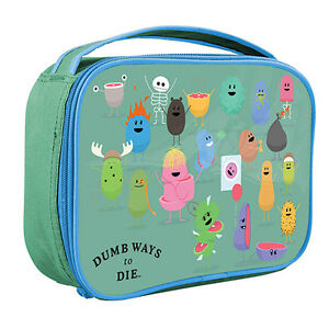 DUMB WAYS TO DIE COOLER BAG for Drink Ice Birthday Christmas ...