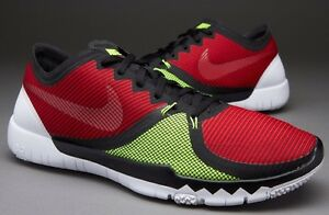 Nike Free 30 V3 Trainer Black Red Green Shoes For Women