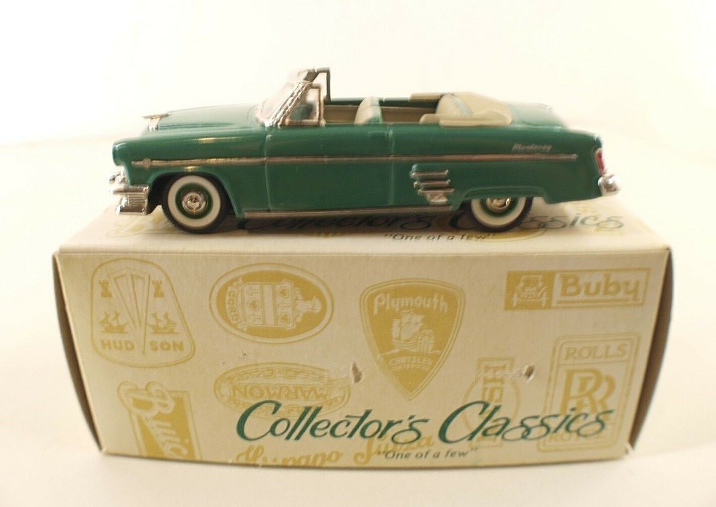 Collector's Klassisch Silberinien Nr. C1-3D0 Mercury Monterey Cabriolet 54 1 43