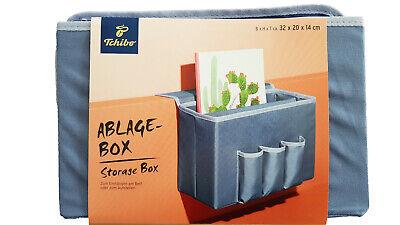 Tchibo TCM Bettablage Bett Ablagebox zum Einhängen//Aufstellen Zeitungsständer