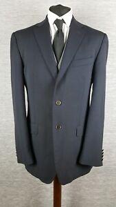 Marks-and-Spencer-Mens-Jacket-Blazer-40L-Long-Blue-Navy