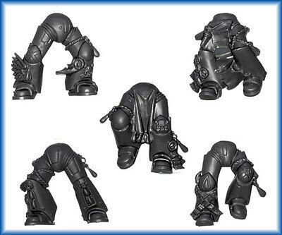 40K Space Marine Blood Angels Death Company LEG'S x 5