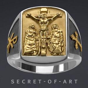 Gold Bishop S Ring