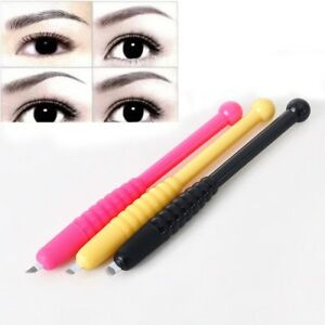 20bbb9e526b70 Image is loading Microblading-Disposable-Tattoo-Eyebrow-Pen -Permanent-F9-F12-
