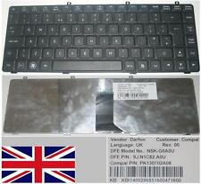 Clavier Qwerty UK GATEWAY TC7814C NSK-G0A0U 9J.N1C82.A0U KB.I1400.296 Noir