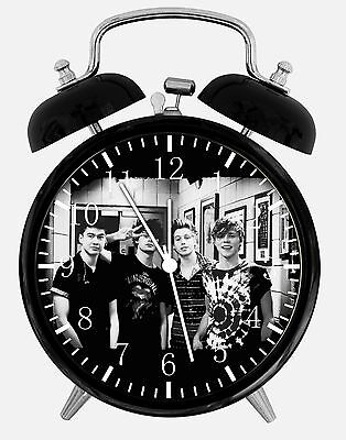 "5 Seconds Of Summer Alarm Desk Clock 3.75"" Home Or Office Decor W499 Nice Gift"