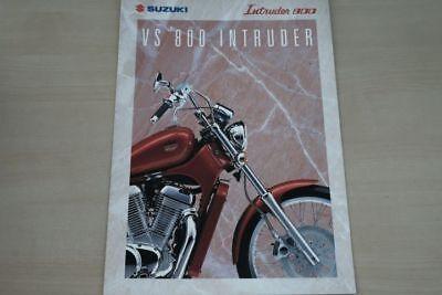 194055 Anleitungen & Handbücher Suzuki Vs 800 Intruder Prospekt 09/1993