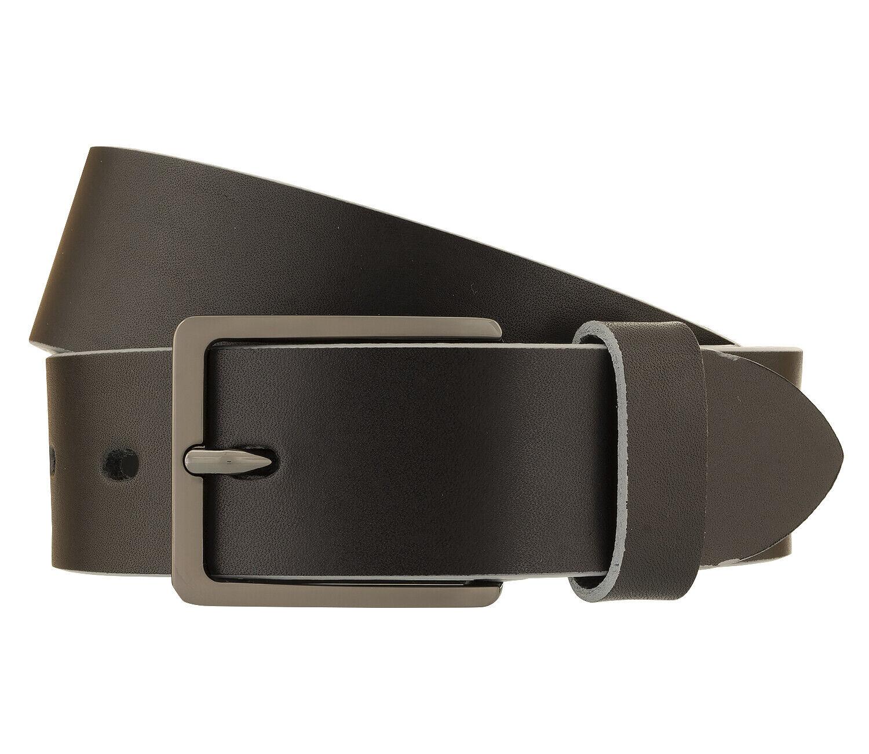 Bugatti Men's Belt Belt Leather Belt Black 162