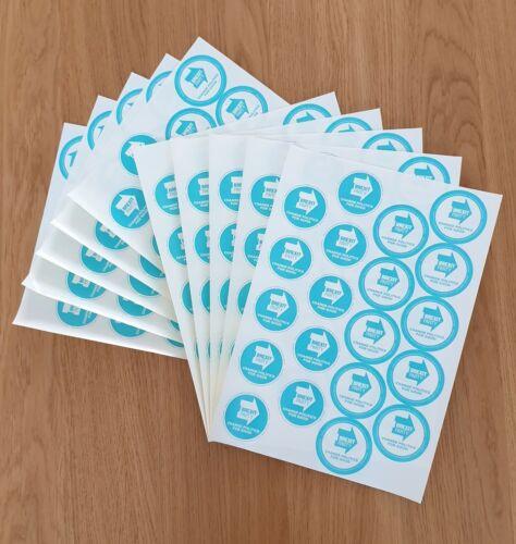 10 sheets Brexit Historic Memorabilia Campaign Stickers