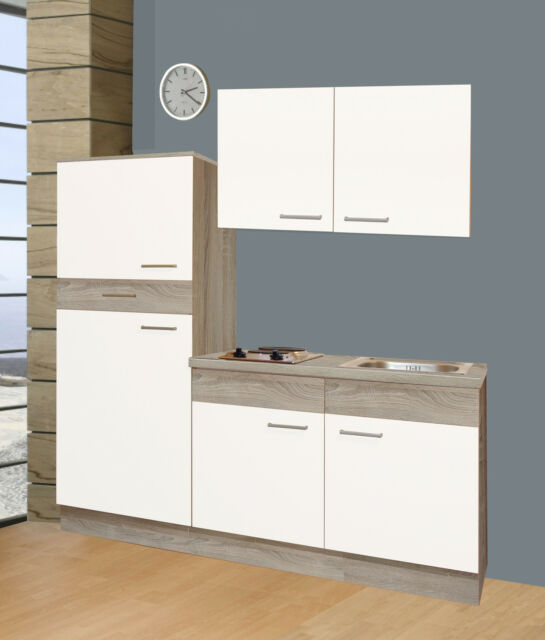 Schon Büroküche Pantryküche Kochplatten Kühlschrank Spüle Studenten Küche 160 Cm  Breit