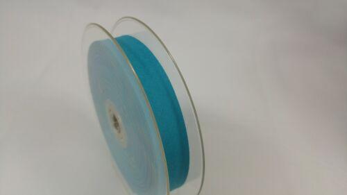 BIAIS UNI 20 mm x 5 mètres RUBAN COUTURE MERCERIE 25 coloris au choix