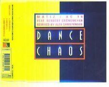 Herbert Gronemeyer Dance Chaos (remixed by Alex Christensen, 1993, f.. [Maxi-CD]