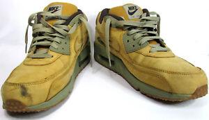 84ca43255cf Nike Air Max Winter Premium Wheat Brown Leather Mens Shoes 683282 ...