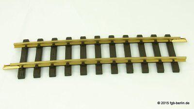 Gleis 300 mm für Gartenbahn Spur G LGB 10000 Gerades Messing