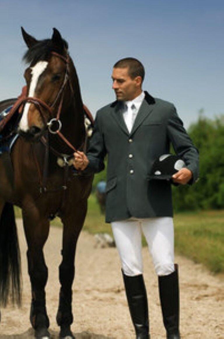 Ekkia Uomo equi Tema concorrenza Equitazione Giacca, dimostreo, saltare.