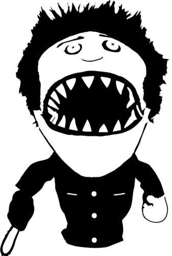 Ashy Slashy vinyl decal sticker Ash Evil Dead Horror humor Darkness Lovecraft