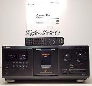 sony cdp cx335 300 fach cd wechsler player compact disc changer 1 j gew hrl 4901780619528. Black Bedroom Furniture Sets. Home Design Ideas