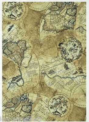 RICE DECOUPAGE PAPER / AROUND THE WORLD / CRAFT PAPER / DECOUPAGE SHEETS