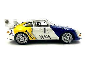 ANSON Racing PORSCHE 911 Turbo GT2 1/18 scale Diecast Race Car Rare #472