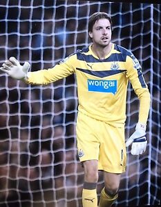 Details about TIM KRULL - NEWCASTLE UNITED GOALKEEPER - EXCELLENT COLOUR  PHOTOGRAPH