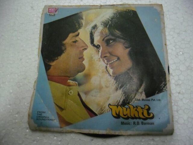 MUKTI RD R D BURMAN 7EPE 7337 bossa funk lounge 1976 RARE BOLLYWOOD EP RECORD EX