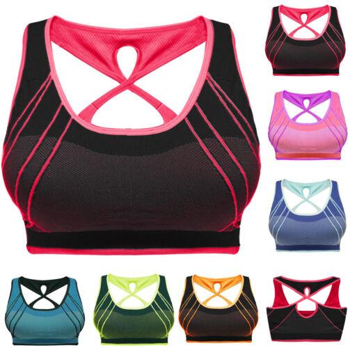 "Sport BH Damen Top Bustier Push-Up Mikrofaser Fitness Bra nahtlos /""DIANNA/"""