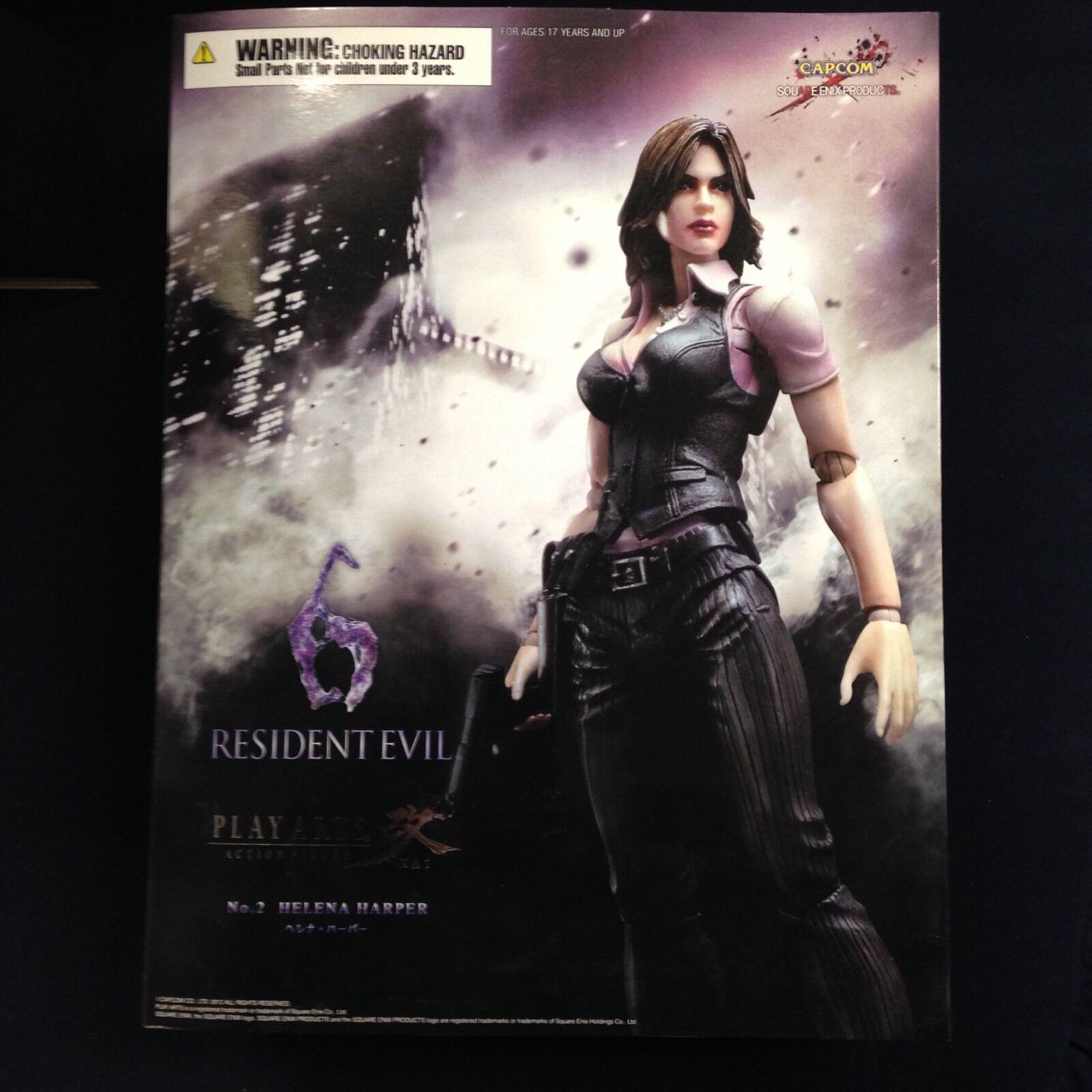 Resident evil 6. helena harper 2 spielen kunst kia square enix