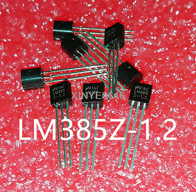 10PCS LM385 LM385Z-1.2 TO-92 Micropower Voltage Reference Diodes