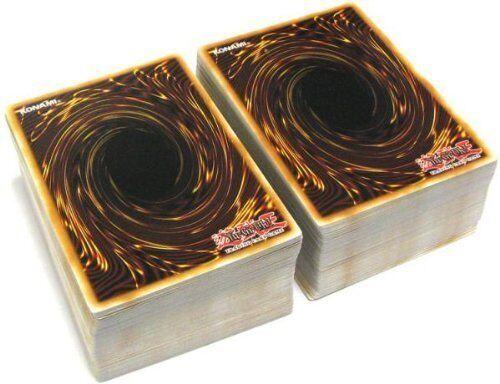 Lot of 100 Mint YuGiOh SUPER Mega Cards Plus 4 Rares and Holo Super//Ultra Rare