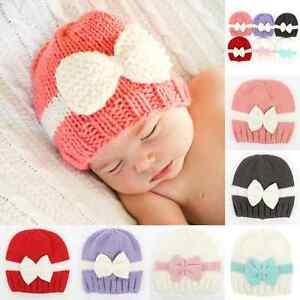 Cute-Baby-Kids-Girls-Toddler-Winter-Warm-Knitted-Crochet-Beanie-Hat-Beret-Cap