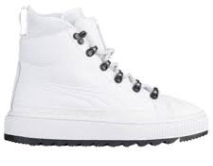 Puma die ren wasserabweisend 7c sneakerboot weiße gummi männer größe 7c wasserabweisend 213b4d