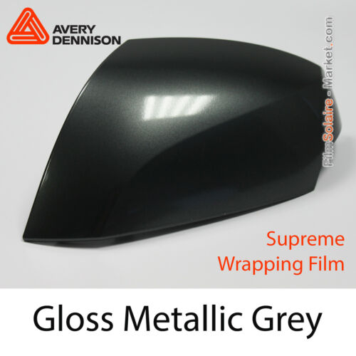 Avery Dennison Wrapping CB1590001 Folie Gloss Metallic Grey Proben