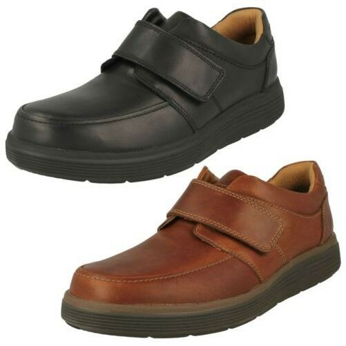 Mens Clarks Hook & Loop Formal Moccasins Un Abode Strap