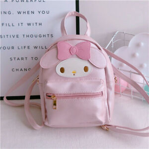 Cute-Women-Girl-039-s-My-Melody-Backpack-Small-Travel-Shoulder-Crossbody-Bag-Gift