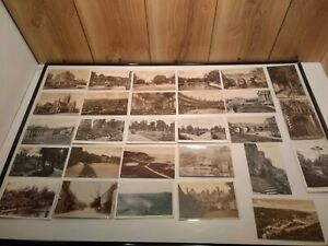 LOT of 32 antique postcards early 1900's scenes of England 20 unused