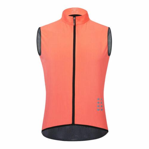 Radweste Atmungsaktive Oberteile Reflektierende Weste Fahrradtrikot Cycling Vest